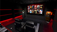 Zappiti home theater room